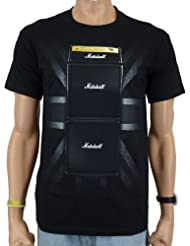 Marshall - Union Jack Band T-Shirt, schwarz