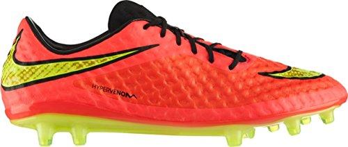 Nike Hypervenom Phantom FG, Scarpe da Calcio Uomo Rosso Giallo
