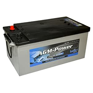 intact agm power batterie 12v 200ah solar wohnmobil boot. Black Bedroom Furniture Sets. Home Design Ideas