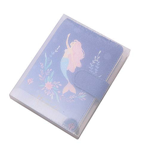 Printed Notebook Student Notebook Mermaid Handbook Hardback A6 Pocket Notebook Notebooks For Girls Blue Blue Hardback