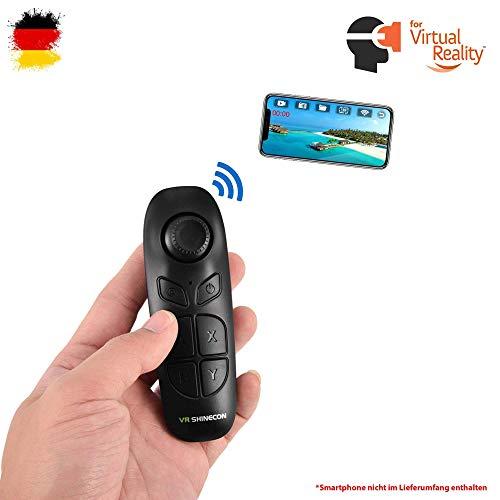 Bluetooth Controller Fernbedienung für VR Brille Gamepad Smartphone Tablet, Universal kompatibel...