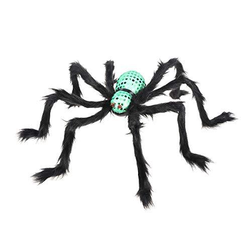 Spinne realistische lustige Halloween Horror Requisiten beängstigend Party Dekoration ()