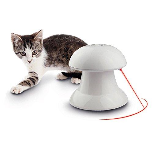 Toy Pet Laser (Automatisches Rotierender Licht Interaktives Spielzeug, Entertainment Stimulation Bewegung Jagd für Katzen und Hunde)