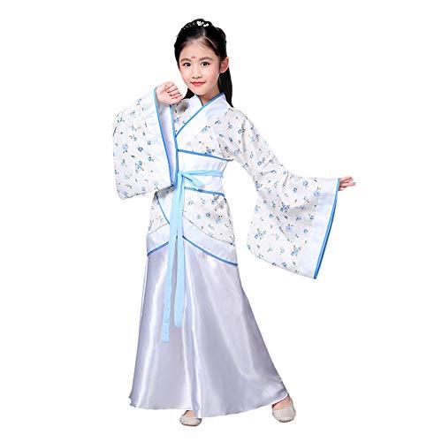 er Stil Hanfu Kleid - Uralt Traditionell Kleidung Elegant Retro Tang Anzug Performance Kostüm ()