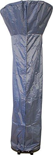 Premium Schutzhülle für Terrassenheizer PU grau, Abdeckung für Heizpilz Wetterschutzhülle Gasheizer
