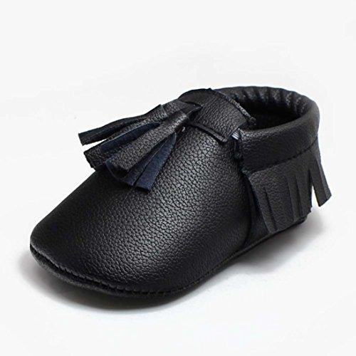 chaussures bébé,Xinan Bébé Garçon Fille semelle souple antidérapante Chaussures Crib Shoe