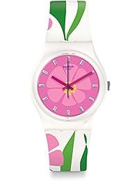 Swatch Reloj Digital para Mujer de Cuarzo con Correa en Silicona GZ304
