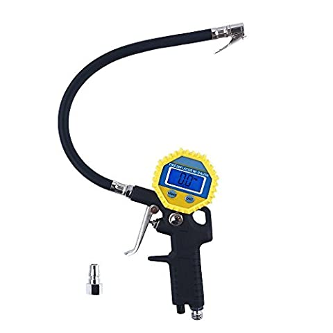 Digital Electric Tyre Inflator with Hose and Gauge for Air