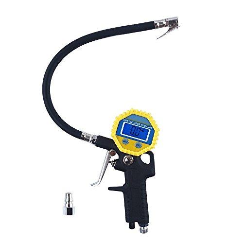 Preisvergleich Produktbild Digital Electric Tire Inflator mit Schlauch und Gauge für Luftverdichter