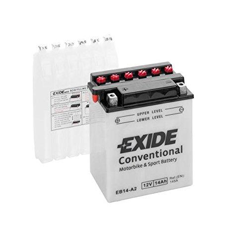 Exide Motorrad Batterie 12V 14Ah 140A YB14-A2