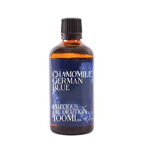 Mystic Moments - Aceite Esencial de manzanilla Alemana Azul - 100 ML - 3% Mezcla de jojoba