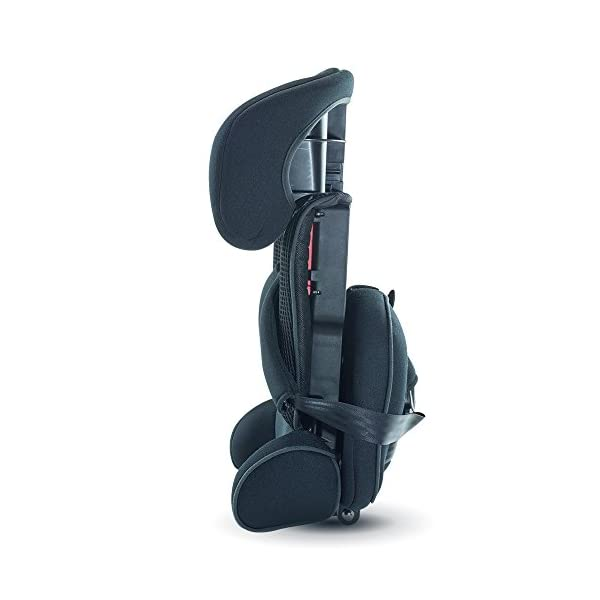 Urban Kanga Uptown Portable and Foldable Travel Car Seat Group 1 | 9-18 Kg (Black)  FOLDABLE PORTABLE TRAVEL CAR SEAT - Universal Group 1. Suitable for children weighing 9-18 Kg. (20 to 40 LB.) SAFE - Tested and certified to meet ECE R44/04 EUROPEAN SAFETY STANDARD LIGHTWEIGHT - Weighs only 3 KG! Fits in most standard suitcases. Carry bag included! 4