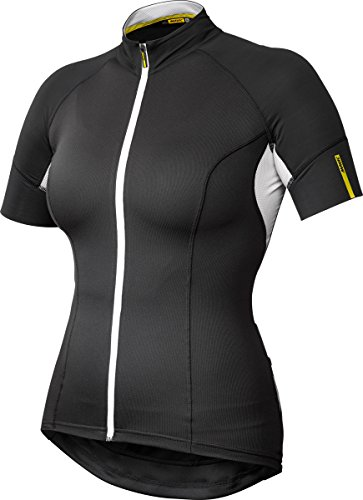 Mavic Ksyrium Elite Damen Fahrrad Trikot kurz schwarz 2016: Größe: XS (32/34) -