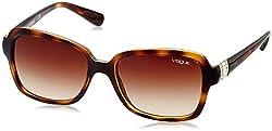 Vogue Gradient Other Sunglasses (0VO2942SBW65613Small) (Dark Havana)