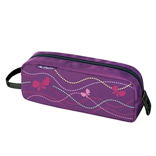 Herlitz Faulenzer be bag Quattro, Fächermappen Butterfly Power