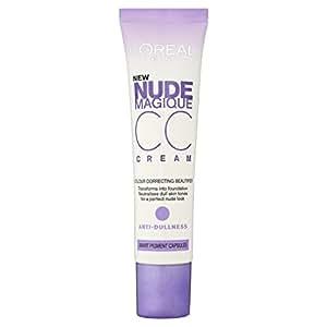 L'Oreal Paris Nude Magique CC Cream Anti Dullness 30ml: Amazon.co ...