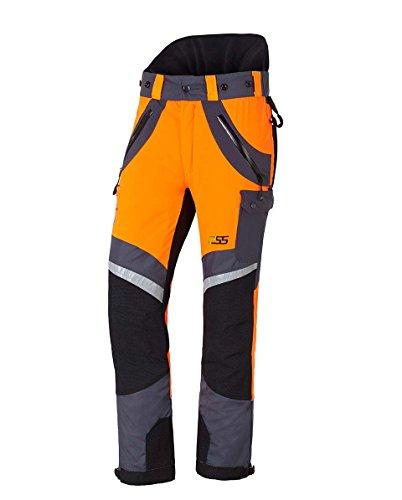 PSS X-Treme Air Schnittschutzhose orange/grau, die Sportliche, Größe 60