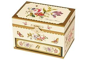 Trousselier Flores Caja de música (Amarillo)