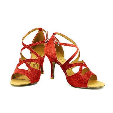 XIAMUO Anpassbare Frauen Beruf Tanz Schuhe Schwarz