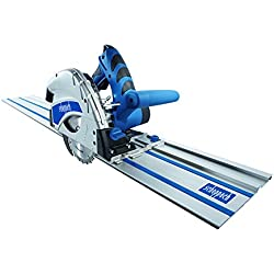 Scheppach PL55 5901802915 Scie plongeante 1,2kW, 230V, 50Hz-2x 700mm + rail anti-basculement