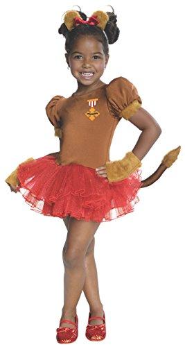 Rubie's Kostüm schöne Lion Der Zauberer von Oz für Mädchen (Der Zauberer Oz Lion Von)