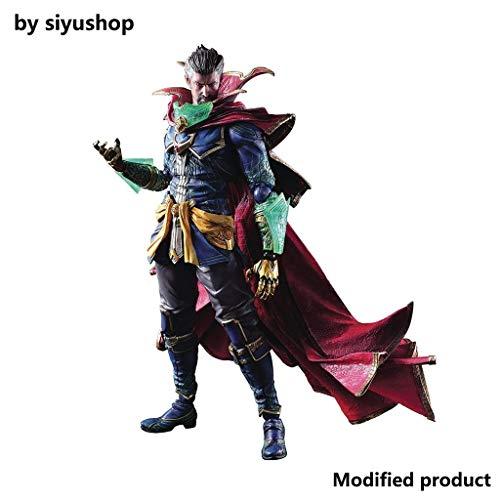 Siyushop Variant Play Arts Kai Doctor Strange Action Figure - Heroes Action Figure - Dotato di Armi Ed Eroi Effetti Speciali Accessori - 28CM