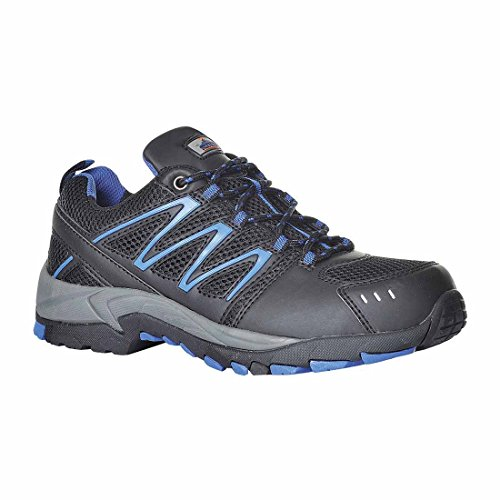 SUW–Compositelite Weichsel Workwear Sicherheit Trainer Schuh S1P HRO, EU 47 - UK 12, schwarz / blau, 1