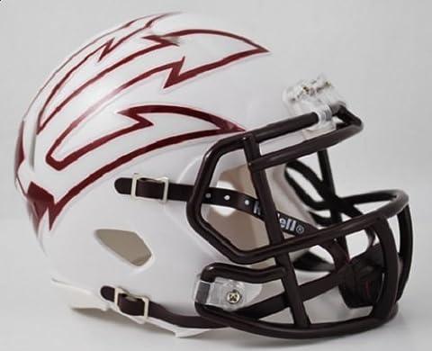 Arizona State Sun Devils NCAA Mini SPEED Helmet by Riddell - WHITE by Riddell