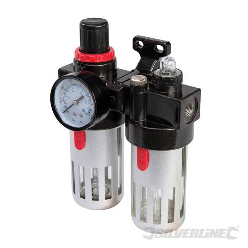 air-tools-air-fittings-air-filter-regulator-lubricator-150ml-provides-clean-dry-regulated-compressed