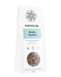 Samova Scuba Garden Refill–Rooibos Vert/Spiruline 100g, pack de 1(1x 100g)