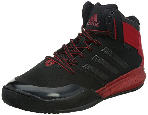 adidas Performance DERRICK ROSE 773 IV Schwarz Rot Herren Basketball Schuhe Adiwear Neu (Basketball-schuhe Und Eine)
