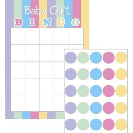 Baby Dusche Geschenk Bingo Spiel für 10Spieler