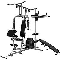 vidaXL Multiestación Máquina de Musculación Ejercicio Gimnacio Entrenamiento Fitness