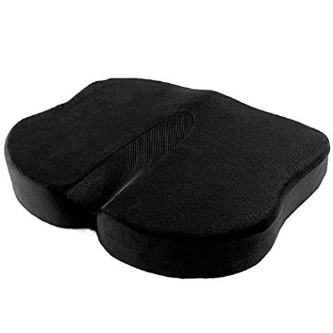Antaprcis Anti-slip Nonslip Coccyx Orthopedic Memory Foam Back & Seat Cushions Comfort Cushion with Soft Memory Foam insert Suitable for Modern Harder Car Seats, Prevents Your Pain and Stiffness in Hip And Back