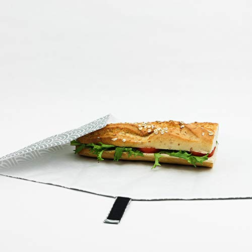 Brotdose Wiederverwendbar fúr Brotzeit, Frühstück, Picknick. Null Abfall
