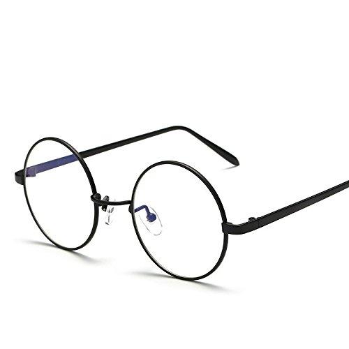 Fashion Glasses-brillenfassungen Strahlenschutz Schutzbrille blaues Licht schwarz
