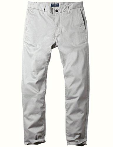 Match Herren Slim Casual Hose #8050 8050 Licht grau