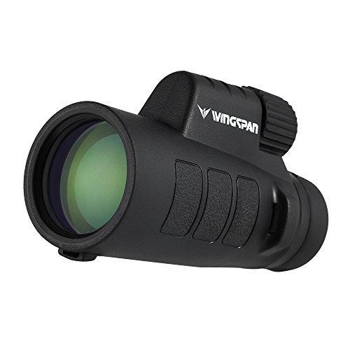 Monocular ProSpotter 10X42 Compacto de Wingspan Optics. Nueva y Avanza