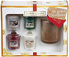 Yankee Candle the Perfect Christmas Votive Holder Giftset, White