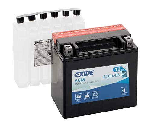 Exide - Batería ytx14-bs