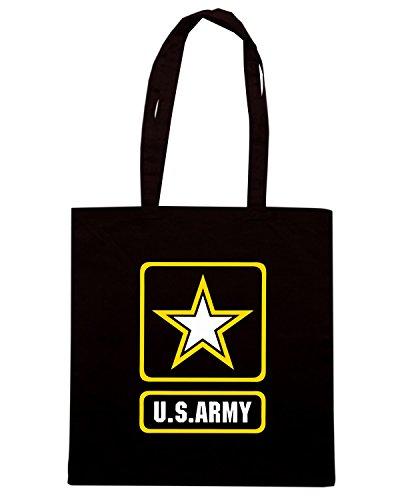 T-Shirtshock - Borsa Shopping TM0418 ArmyLogo Nero