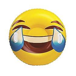 Bigmouth Inc Emoji Snow Tube