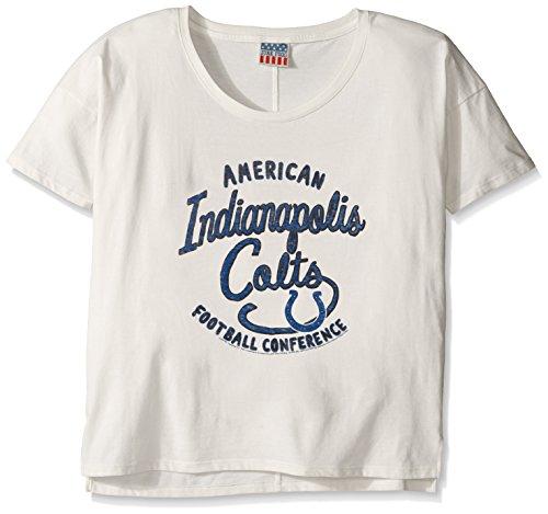 Junk Food Vintage Shirts (Junk Food Erwachsene Frauen Übergroße Fan T-Shirt Vintage Boyfriend SS Tee, Women's Oversized Boyfriend Fan T-Shirt, Sugar)