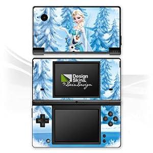 DeinDesign Skin kompatibel mit Nintendo DSi Folie Sticker Frozen ELSA Offizielles Lizenzprodukt Disney