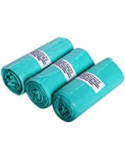 Maitri Enviro Vedant Santosh OXO Biodegradable Garbage Bags Roll (90 Bags, Green, 17 X 20 Inch, Small) - Pack of 3