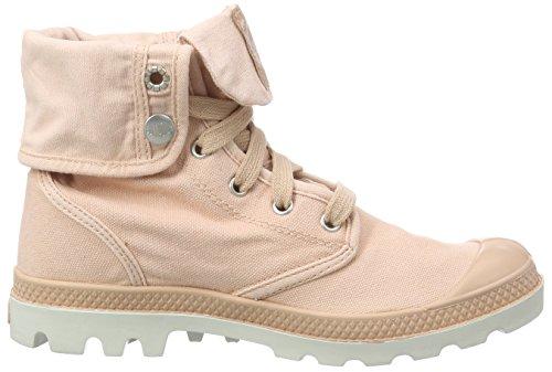 Palladium Baggy, Desert Boots Femme Rose (Salmon Pink/Silver Birch)