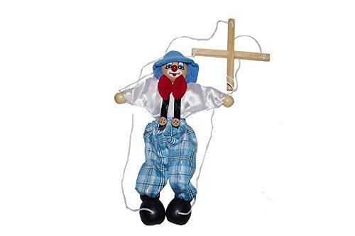 Juguetutto - Marioneta Payaso Gorro - Juguete madera