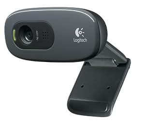 Logitech - 960-000582 - C270 Webcam HD avec Microphone Intégré
