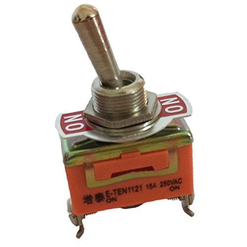 Sharplace 3 Pins Wippe Kippschalter 10A AC Ein aus Schalter 2 Position PDT Auto-LKW-Boot