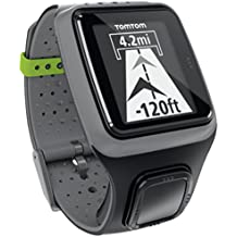 TomTom GPS Sportuhr Multisport HRM, Dark Grey, One size, 1RS0.001.01